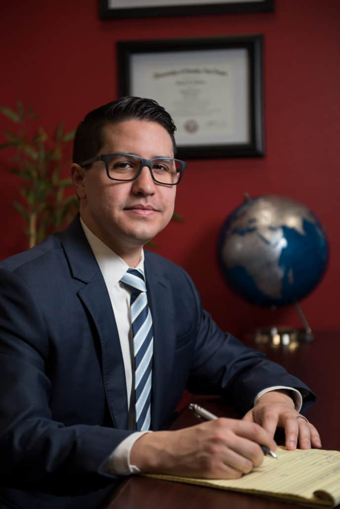 Las Vegas Personal Injury Attorney Michael Valiente