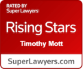 Tim Mott Rising Stars Badge