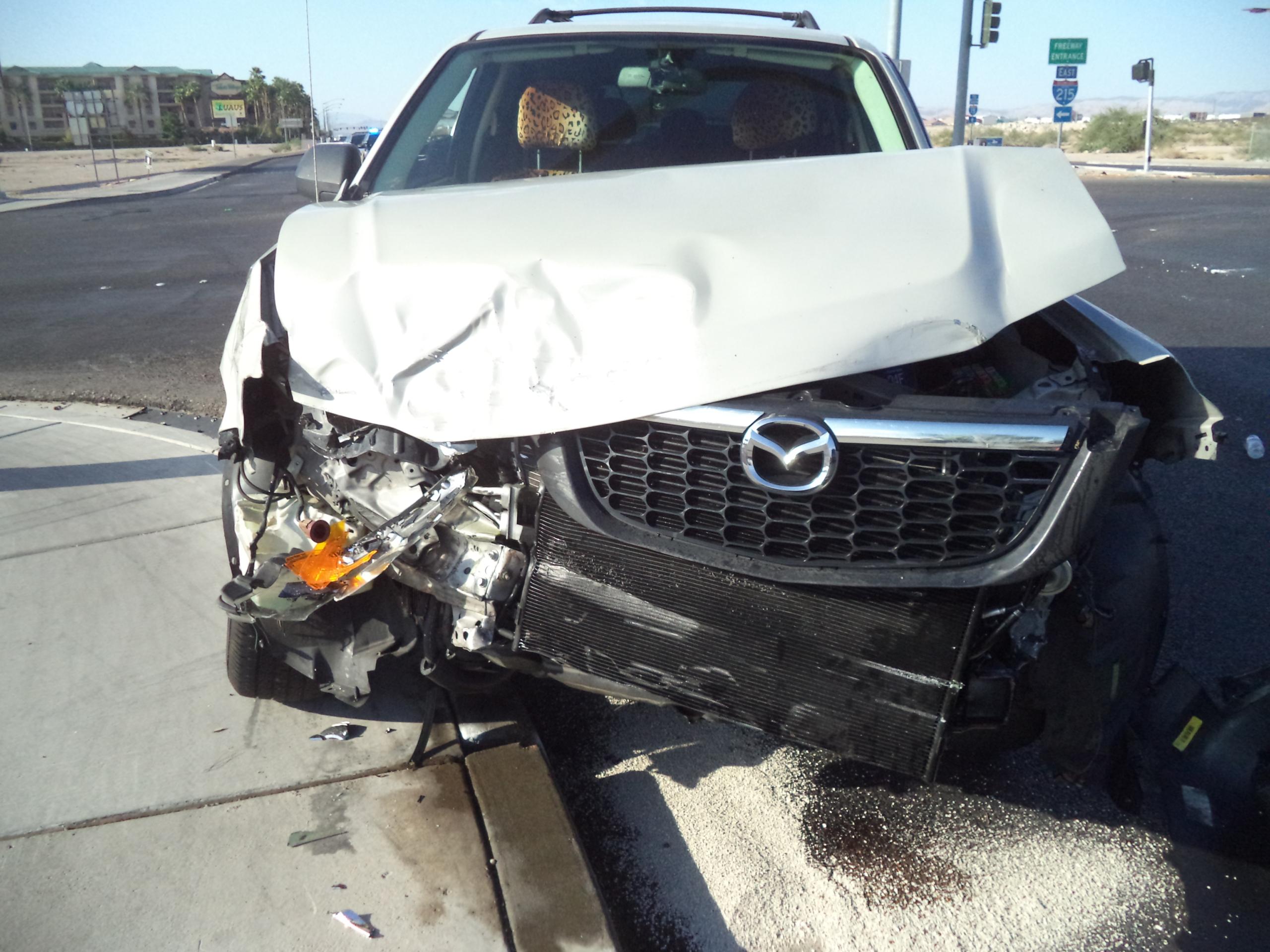 Rear-End Car Accident Las Vegas