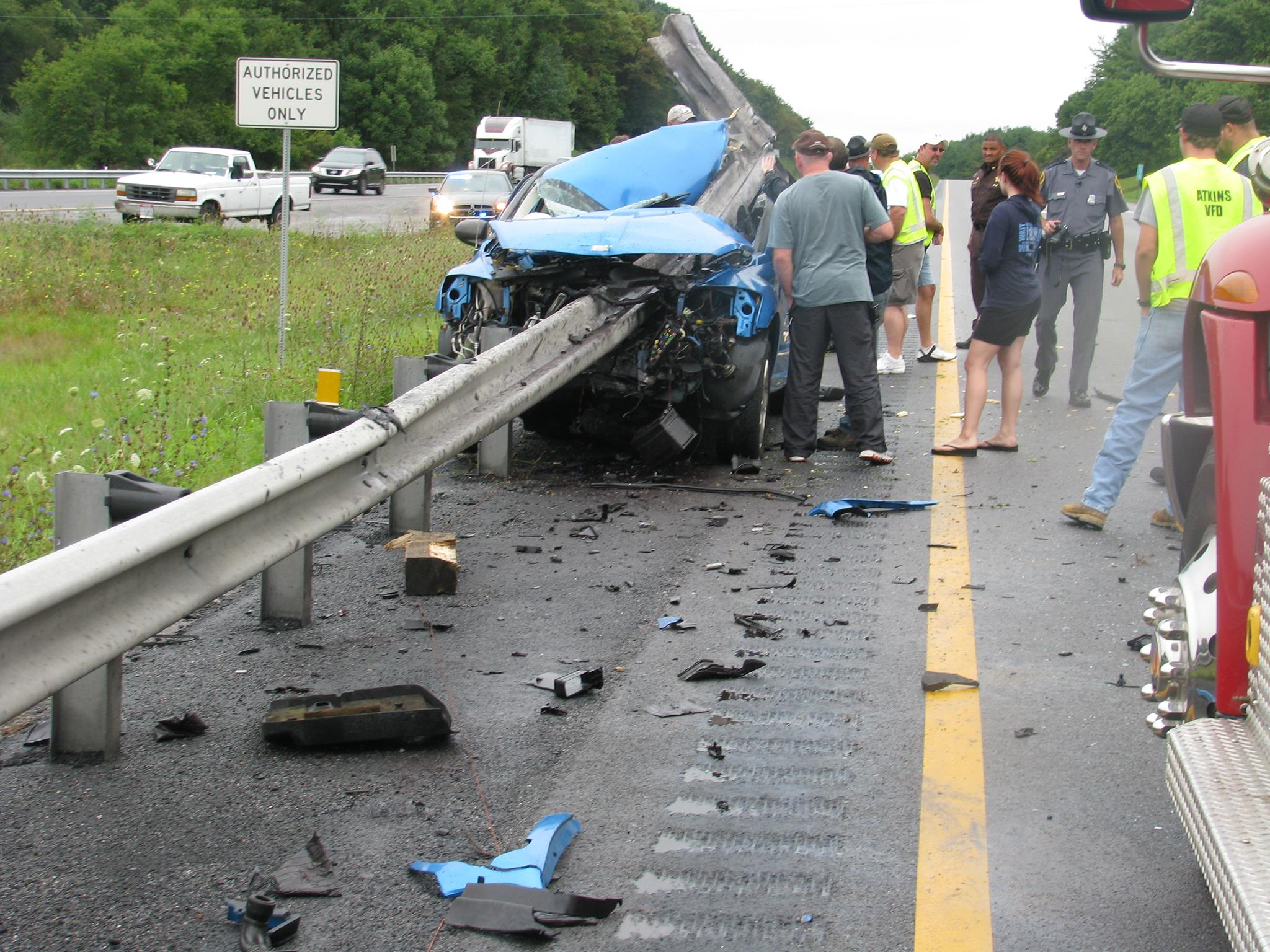 Crazy Car Accident