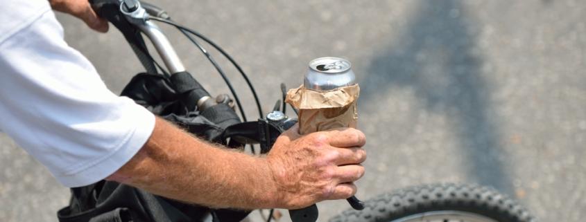 DUI on a bike