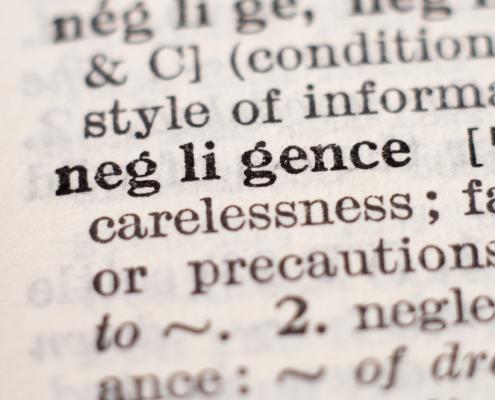 negligence defined