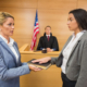 swearing in before deposition