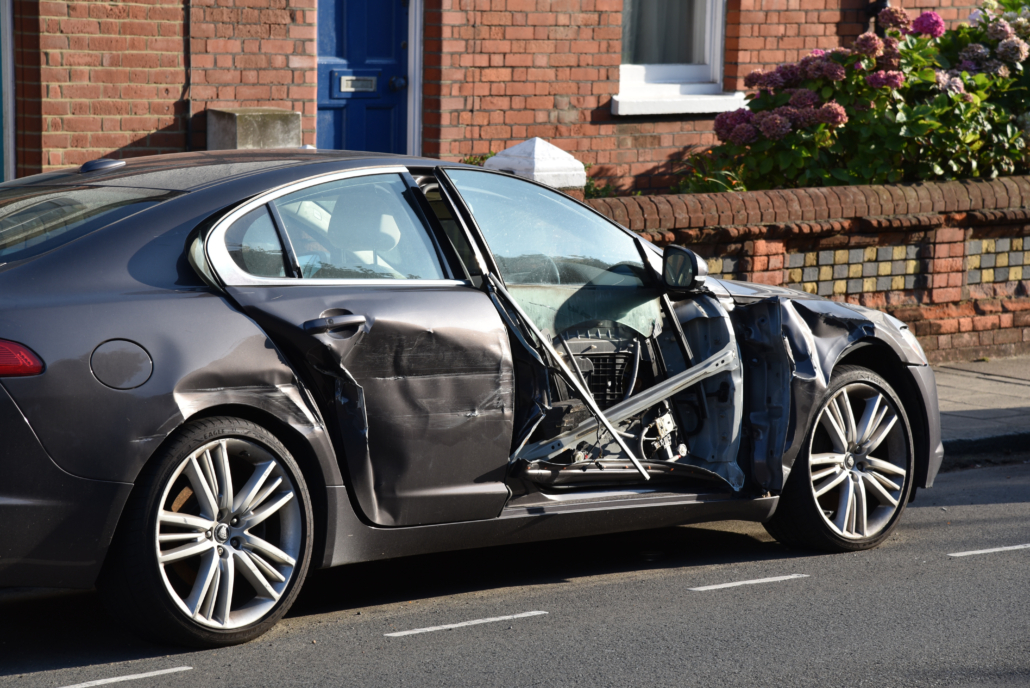 Sideswipe Car Accidents: Collision Injuries & Damages
