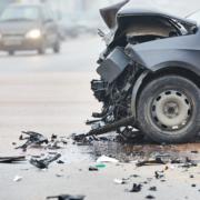 Las Vegas, NV - Police, EMTs on Scene of Injury Accident on Tropicana Ave Near Bruce Woodbury Btwy