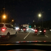 North Las Vegas, NV - EMS Treats Victims of Car Accident on Hwy 95 at Casino Ctr Blvd