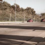North Las Vegas, NV - Officers Investigating Injury Collision on Hwy 95 NB at MLK Blvd