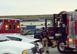 Las Vegas, NV - Car Crash Causes Injuries on I-15 NB at Tropicana Ave