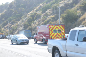 Las Vegas, NV - Auto Accident on I-15 SB at Ex 100 & Carp Elgin Rd Ends in Injuries