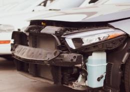 North Las Vegas, NV - Two-Car Collision at Charleston Blvd & Commerce St Under Investigation